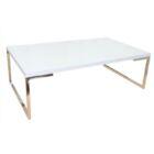 Damaris Coffee Table Top Color: White