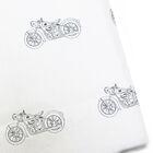 Motorcycle 220 Thread Count 100% Cotton Sateen Sheet Set
