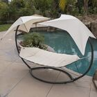 Natashia Sunroof Dual Hammock with Stand