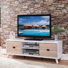 Cofer Modern 60'' TV Stand with Cutout Drawer Storage