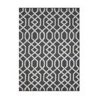 Aroa Wave Hand-Tufted Gray Area Rug Rug Size: Rectangle 7'6