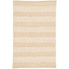 Bourassa Geometric Handmade Ivory Area Rug Rug Size: Rectangle 8' x 10'
