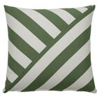 Halo Indoor/Outdoor Throw Pillow (Set of 2) Color: Kelly, Size: 24