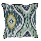 Manado Ikat Indoor/Outdoor Throw Pillow (Set of 2) Size: 22