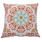 Molto Medallion Indoor/Outdoor Throw Pillow (Set of 2) Color: Cajun, Size: 24