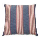 Bradford Indoor/Outdoor Throw Pillow (Set of 2) Color: Indigo, Size: 22