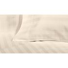 4 Piece 600 Thread Count Cotton Sateen Sheet Set Size: King, Color: Ivory