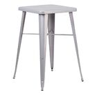 Jesse Bar Table Color: Silver