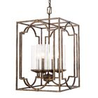 Ashburn 4-Light Foyer Pendant Size: 36