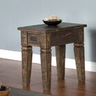 Calina Wood End Table