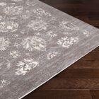 Montrose Gray/Cream Area Rug Rug Size: Rectangle 5'3