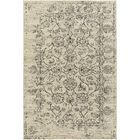 Hyde Park Cream/Black Area Rug Rug Size: 5'3