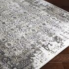 Deandra Black/Gray Area Rug Rug Size: Rectangle 7'11