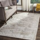 Jessup Hand-Loomed Ivory/Silver Area Rug Rug Size: Rectangle 8' x 10'