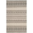 Billie Hand-Tufted Gray/Ivory Area Rug Rug Size: Rectangle 11' x 15'