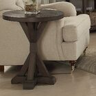 Delvalle Round End Table