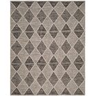 Oxbow Hand-Woven Black Area Rug Rug Size: Rectangle 4' x 6'