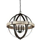 Pearl 6-Light Globe  Chandelier