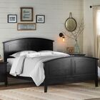 Lignite Panel Bed Color: Cappuccino, Size: Queen