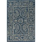 Montgomery Hand-Tufted Navy/Light Gray Area Rug Rug Size: 8' x 10'