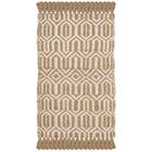 Oakland Fiber Hand-Woven Natural/Ivory Area Rug Rug Size: Rectangle 6' x 9'