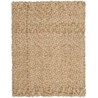 Clea Fiber Hand-Woven Natural Area Rug Rug Size: Round 8'