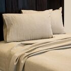 Aguirre 4 Piece Sheet Set Size: Queen, Color: Natural