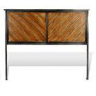 Medellin Metal Panel Headboard Size: Full