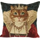 Reine de Beaute Classic Throw Pillow
