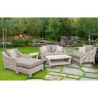 Gia Assembled 6 Piece Sofa Set with Cushions