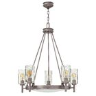 Collier 5-Light Candle-Style Chandelier Finish: Antique Nickel