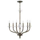 Surrey 6 Light Candle-Style Chandelier Finish: Oiled Bronze