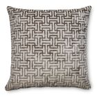 Buckle Velvet Throw Pillow