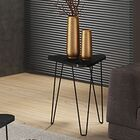 Artesano End Table Color: Black