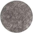 Cheevers Handmade Gray Area Rug Rug Size: Round 7'
