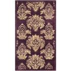 Metro Floral Rug Rug Size: Rectangle 3' x 5'
