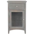 Ziva End Table Color: French Grey