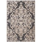 Darroll Stone/Anthracite Area Rug Rug Size: Rectangle 4' x 5'7
