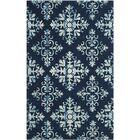 Dip Dye Navy/Blue Area Rug