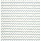 Dhurries Ivory/Blue Area Rug Rug Size: Square 6'