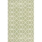 Dhurries Sage/Ivory Area Rug Rug Size: Rectangle 5' x 8'