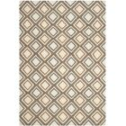 Dhurries Ivory / Blue Area Rug Rug Size: Rectangle 5' x 8'