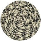 Freda Hand-Tufted Black/Gray Area Rug Rug Size: Rectangle 3'6