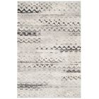 Sabang Cream / Gray Area Rug Rug Size: Rectangle 4' x 6'