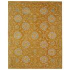 Anatolia Gold/Blue Area Rug Rug Size: Rectangle 5' x 8'
