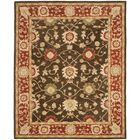 Thao Hand-Woven Wool Olive/Rust Area Rug Rug Size: Rectangle 8' x 10'