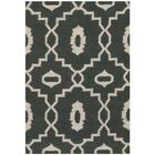 Dhurries Green/Ivory Area Rug Rug Size: Rectangle 8' x 10'
