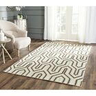 Dhurries Hand-Woven Wool Brown/Green/Beige Area Rug Rug Size: Rectangle 4' x 6'