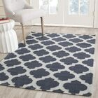 Dhurries Hand-Woven Wool Blue/Ivory Area Rug Rug Size: Rectangle 9' x 12'