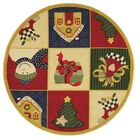 Kinchen Chirstmas Day Novelty Rug Rug Size: Rectangle 3'9